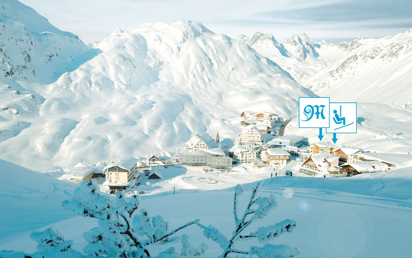 hotel maiensee – ski in & ski out