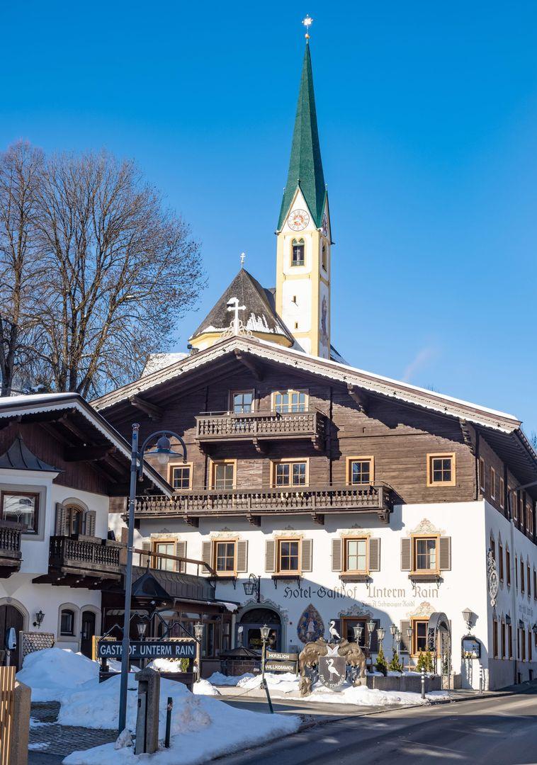 Meer info over Alpenglück Hotel Unterm Rain  bij Wintertrex