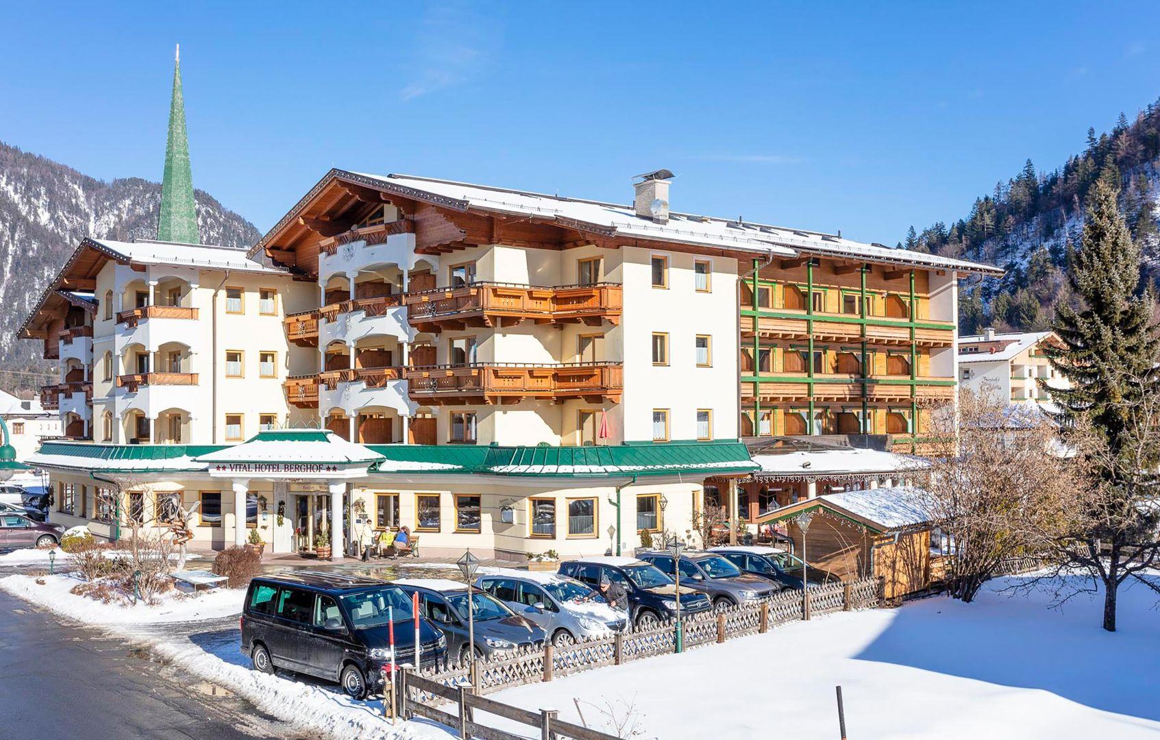 Meer info over VitalHotel Berghof  bij Wintertrex