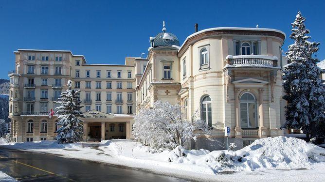 Unterkunft Hotel Reine Victoria, St. Moritz,