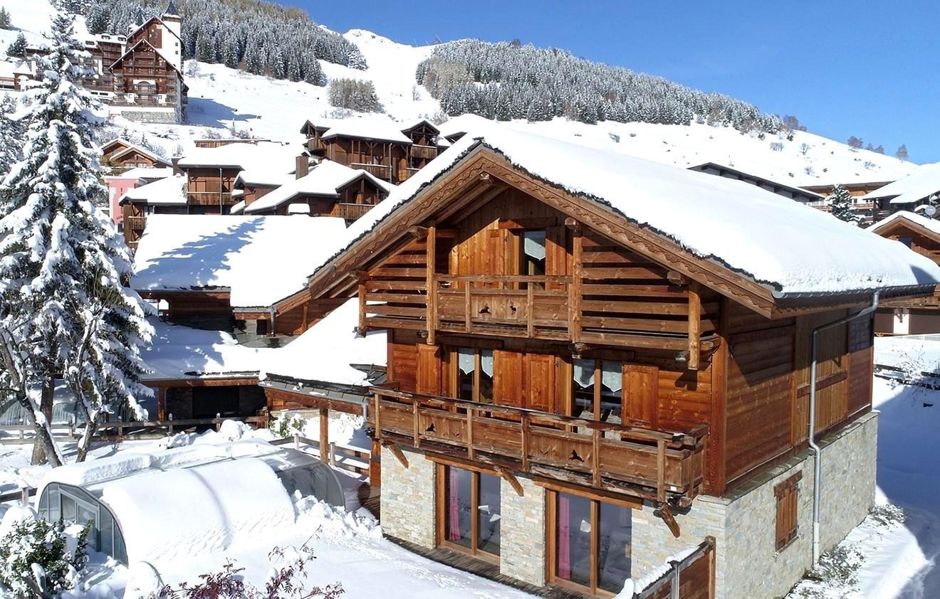 Meer info over Chalet Le Loup Lodge  bij Wintertrex