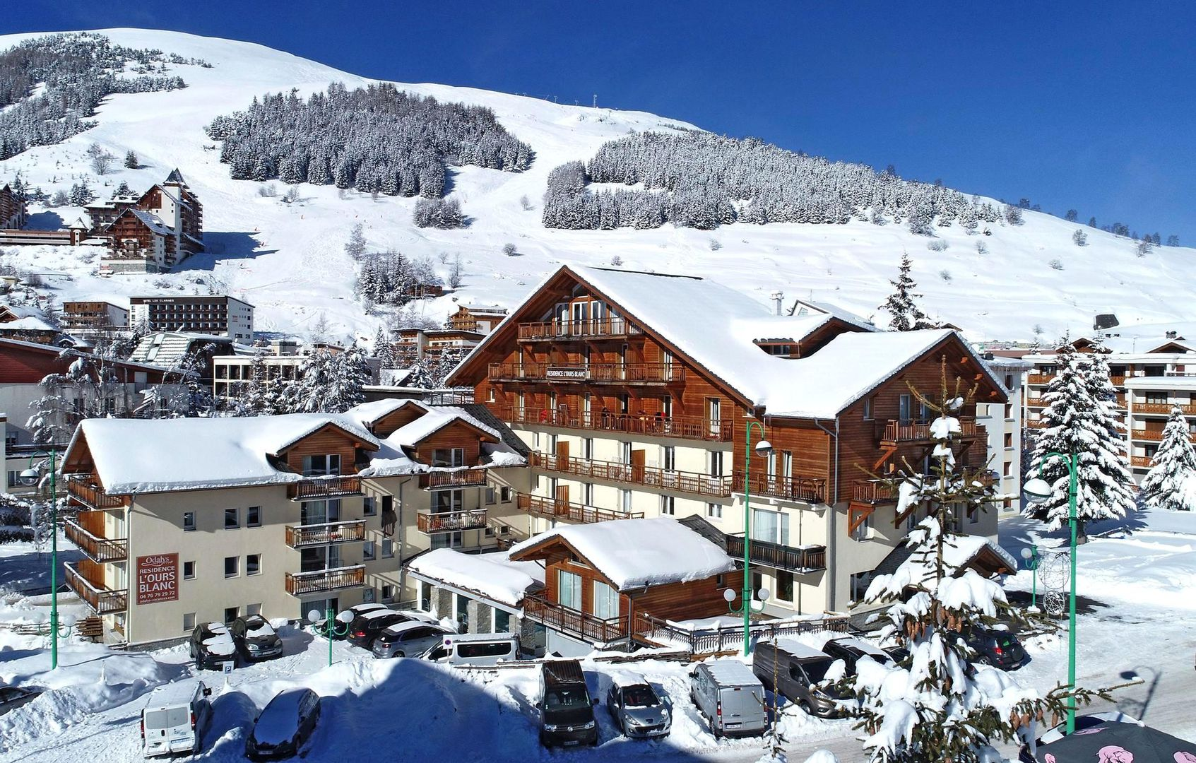 Meer info over Résidence L'Ours Blanc  bij Wintertrex