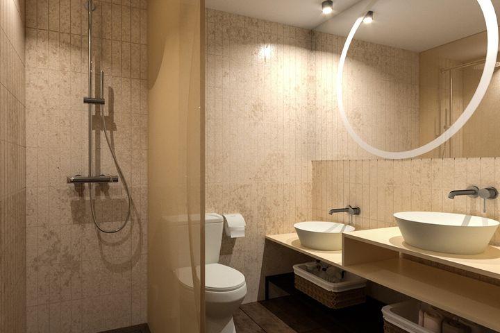 Doppelzimmer Du/WC (FriDa), AI light
