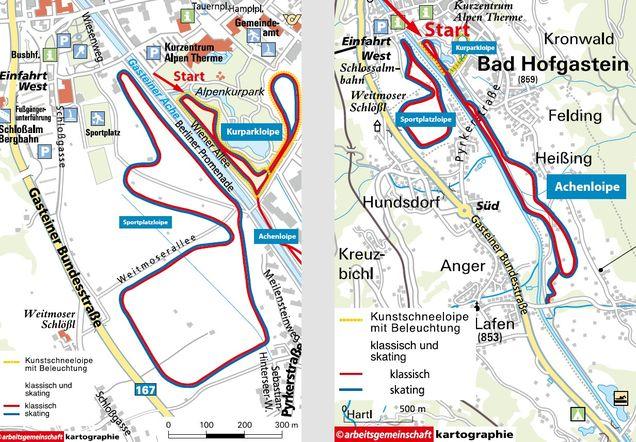 Langdskidakning Bad Hofgastein Lagenhet Och Ski Chalet Vid Pisten