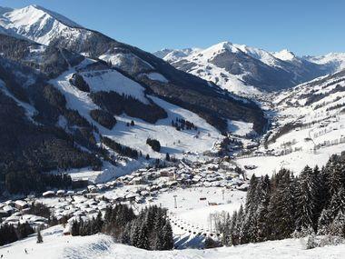 Aanbiedingen wintersport Saalbach inclusief skipas
