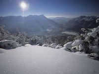 Skigebiet Garmisch-Partenkirchen