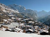 Skigebiet Wengen