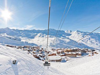 Aanbiedingen wintersport Val Thorens inclusief skipas