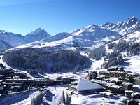 Skigebiet Courchevel,