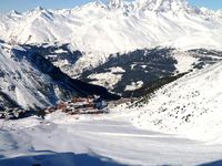 Skigebiet Peisey-Vallandry,